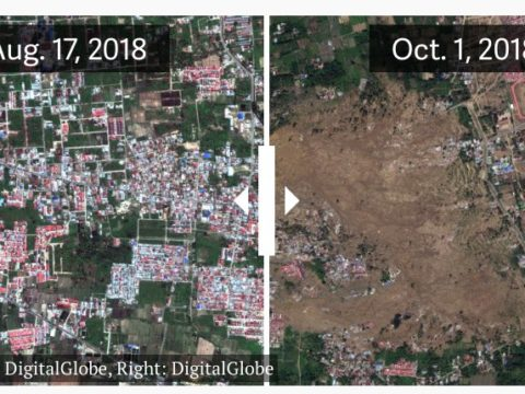 Последствия цунамив Индонезии