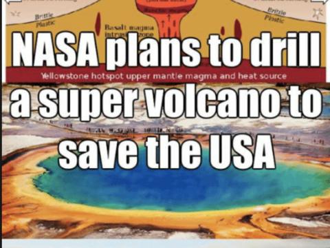 Зловещие планы NASA по бурению вулкана Йеллоустоун