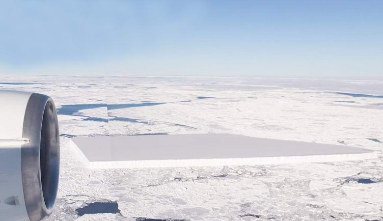 Прямоугольный айсберг