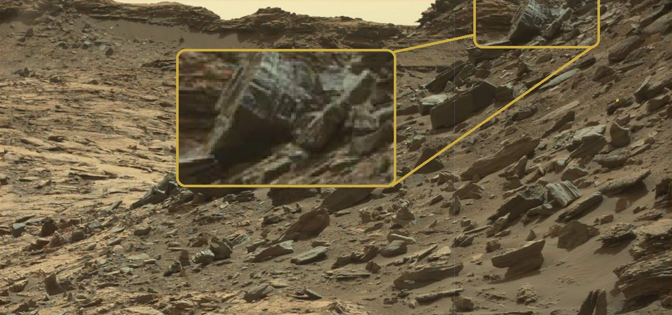 Древние инопланетяне на Марсе? Изображения NASA показывают статуи на красной планете?