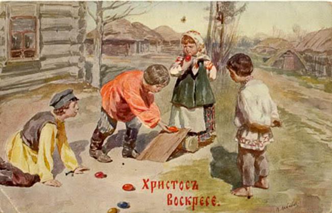 Картинки по запросу старинные пасхальные картинки