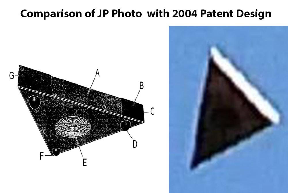 Фотографии треугольника с антигравитацией над Орландо, штат Флорида