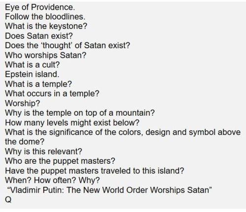 QAnon о Ротшильдах и Сатанизме - Секретный альянс Трампа с Путиным