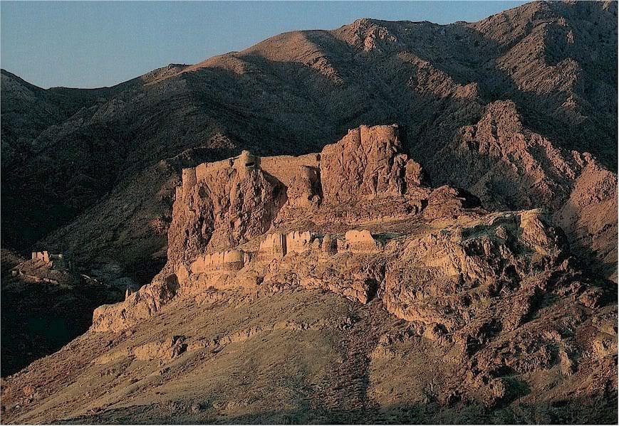 Крепость в горах