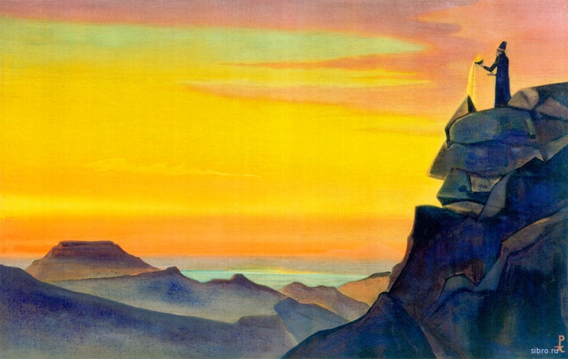 Картинки по запросу Н.К.Рерих. «Зороастр»