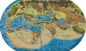 Картинки по запросу Представление о Земле Геродота (V в. до н.э.)