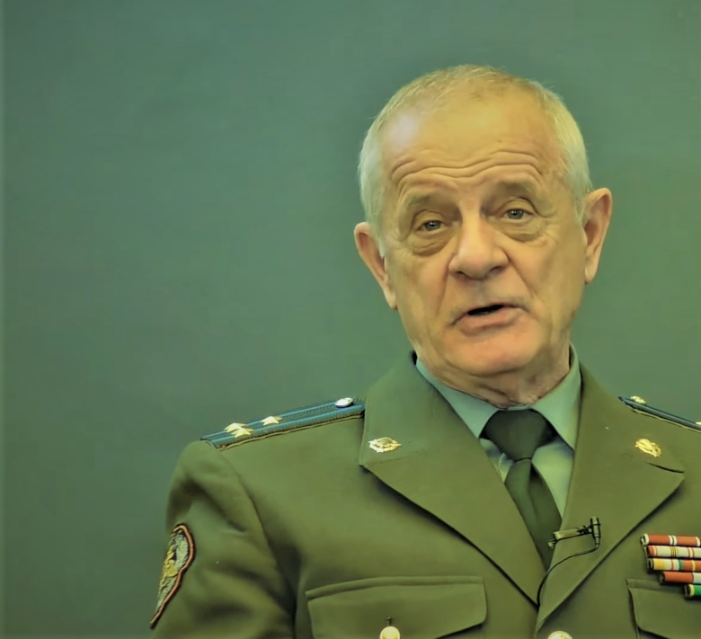 """Владимир Квачков в студии """"Рубеж"""""""