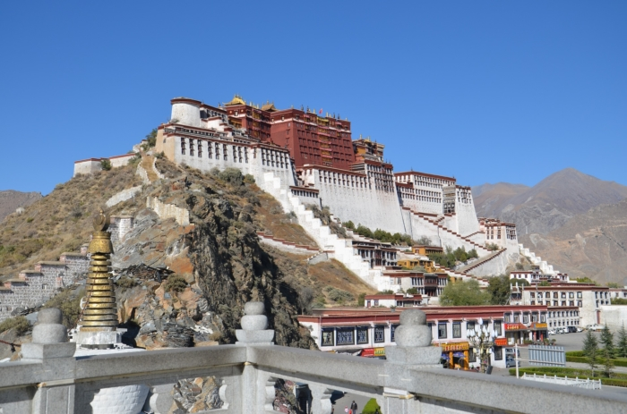 Храм в Тибете