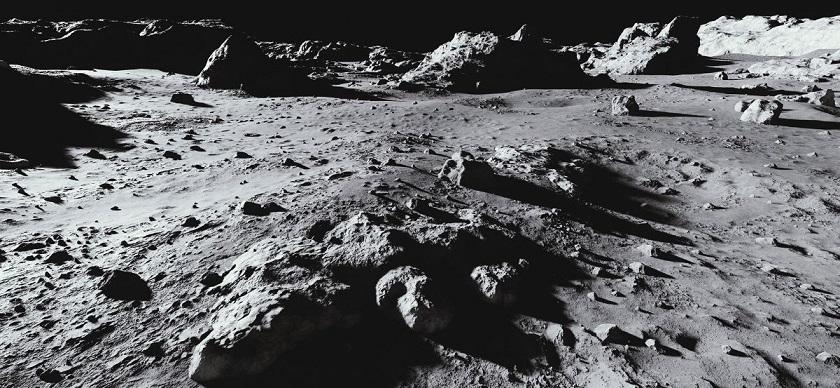 На поверхности Луны могут находиться фрагменты Венеры