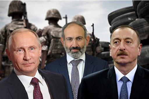 Пашинян, Алиев и Путин договорились о прекращении войны в Карабахе. Армения протестует