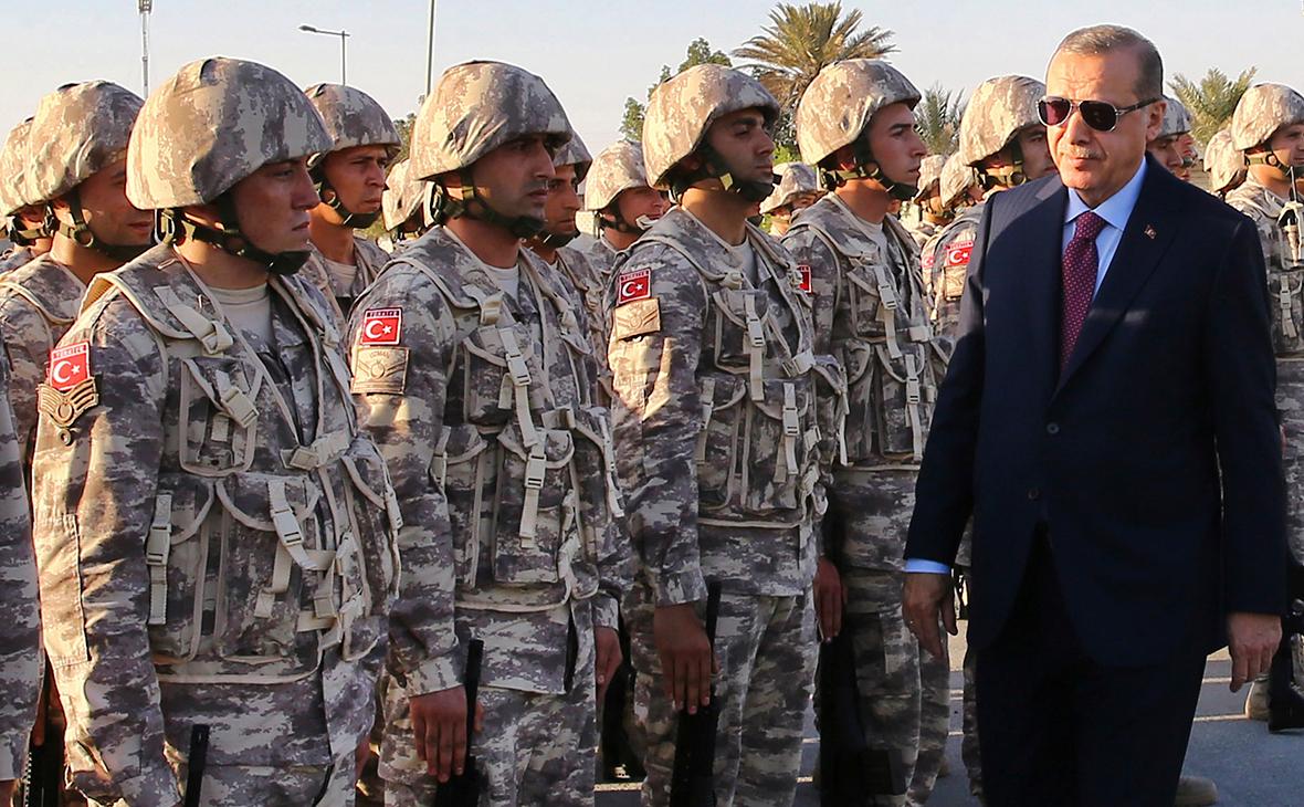 Эрдоган объявил о начале военной операции Турции в Сирии :: Политика :: РБК