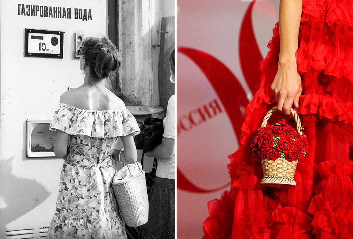 Советские и современные плетенки.