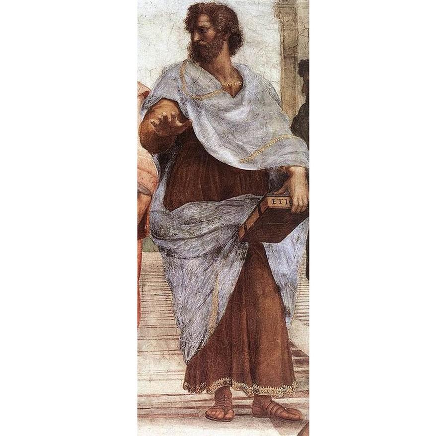 Аристотель кисти Рафаэля. Фото © Wikipedia