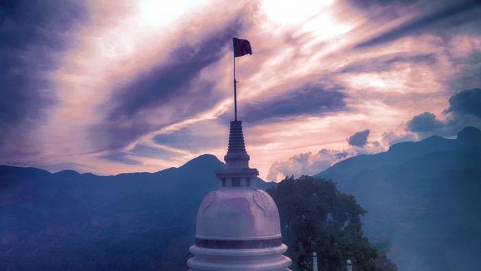Буддийский храм, Шри-Ланка
