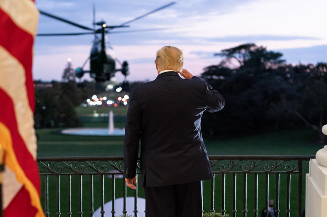 Трамп не сдается: президент объявил о победе в Пенсильвании