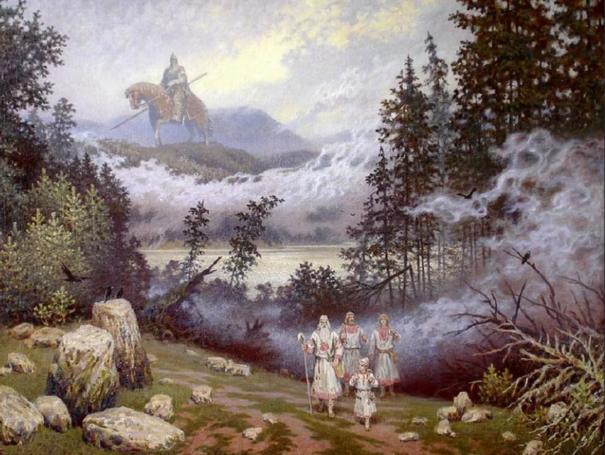 Пробудиться - это вспомнить себя в Русском Духе