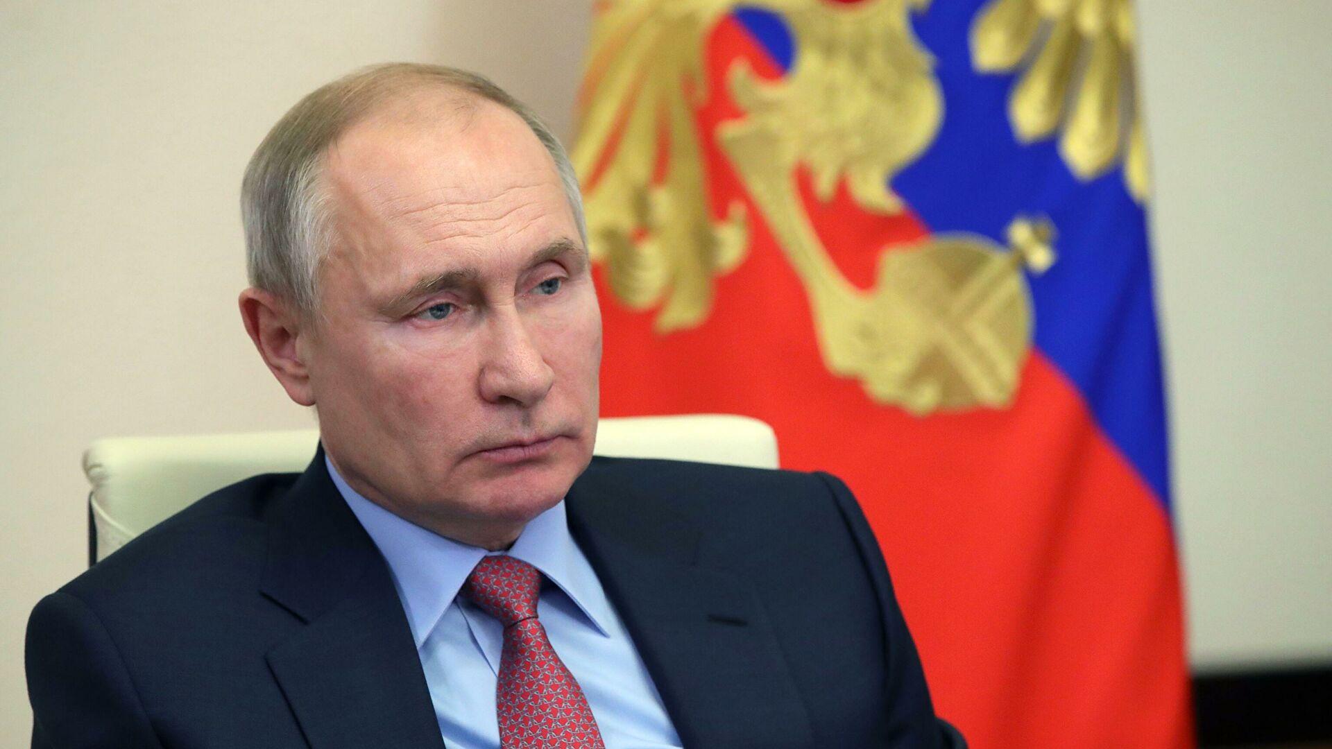 Путин в Давосе расскажет о том, как меняется мир в эпоху пандемии - РИА Новости, 26.01.2021