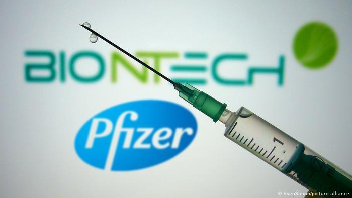 BioNTech и Pfizer начали экстренную регистрацию вакцины от COVID-19 | Коронавирус нового типа SARS-CoV-2 и пандемия COVID-19 | DW | 20.11.2020