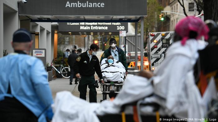 Хроника пандемии: США обошли Италию по числу жертв | Коронавирус нового типа SARS-CoV-2 и пандемия COVID-19 | DW | 11.04.2020