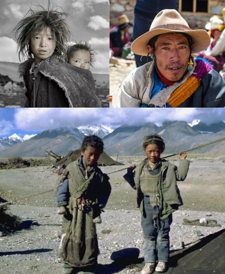 Тибет и Северный полюс. Жители