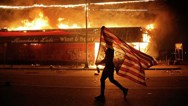 """Черная война"""" в США: худшее еще впереди - РИА Новости, 31.05.2020"""
