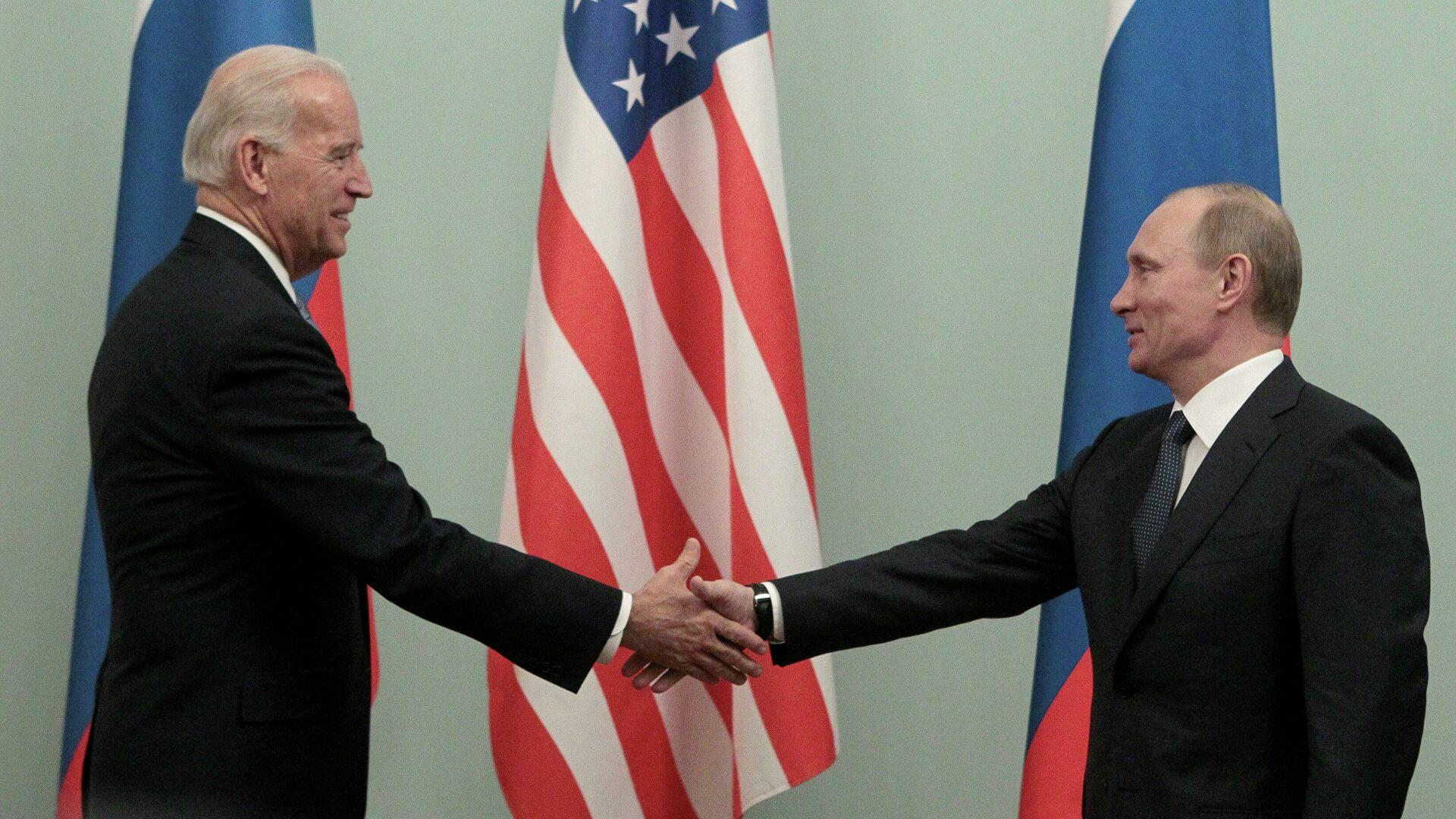 Захарова ответила на вопрос о подготовке встречи Путина и Байдена - РИА Новости, 14.04.2021