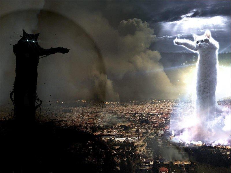 Битва темных и светлых сил: