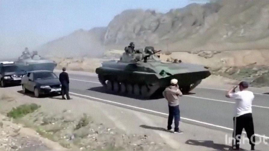 СМИ: Таджикистан и Киргизия остановили вооруженный конфликт - Газета.Ru | Новости