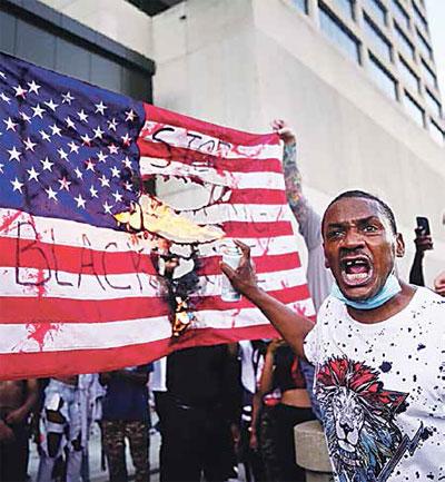 Черная полоса Америки