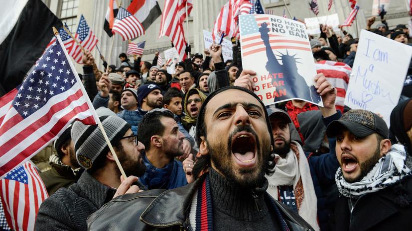 Колючие ветви власти: почему суды в США противодействуют миграционной политике Трампа — РТ на русском