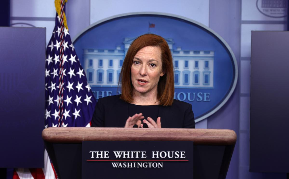 Псаки заявила о неизменности позиции США по «Северному потоку-2» :: Политика :: РБК