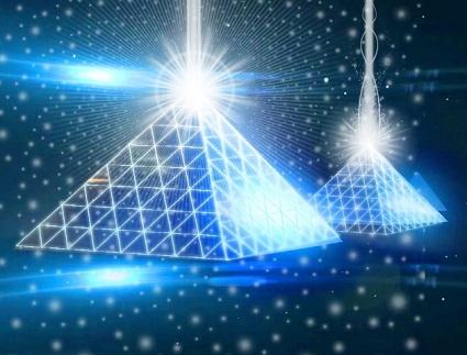 Пирамиды и родинки. Кристально голубые энергии и солнечные коды