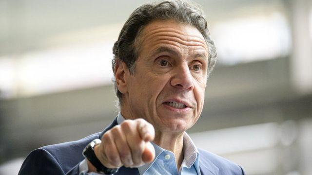 Не такой, как Трамп. Почему американцам нравится, как губернатор Нью-Йорка Эндрю Куомо борется с коронавирусом - BBC News Русская служба